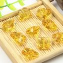 Beads, Selenial Crystal, Crystal, Gold colour , Butterfly shape, 14mm x 12mm x 7mm, 1 Bead, [ZZE0012]